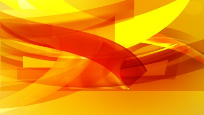 Red and Yellow Background Vector Image