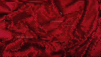 Red and Black Dotted Background Design