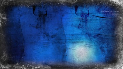 Black and Blue Grunge Background