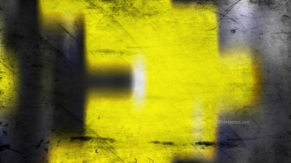 Black and Yellow Grunge Background