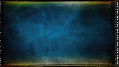 Black Blue and Green Grunge Texture Background