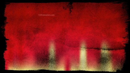 Black Red and Gold Grunge Background