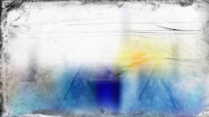 Blue and White Grunge Background