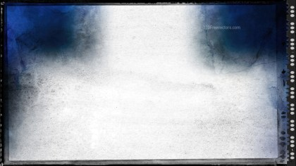 Blue Black and White Grunge Background