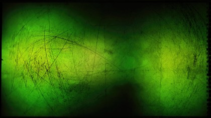 Green and Black Grungy Background