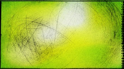 Green Yellow and White Grunge Background