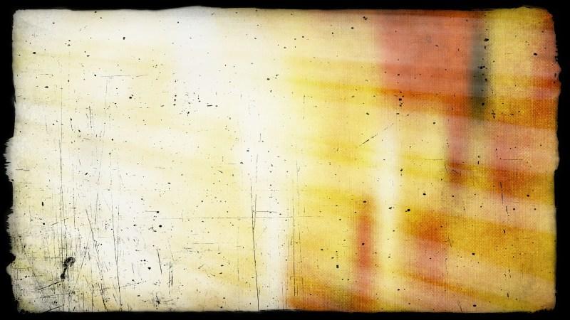 Orange and White Grungy Background