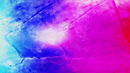 Blue and Purple Watercolor Background Texture Image