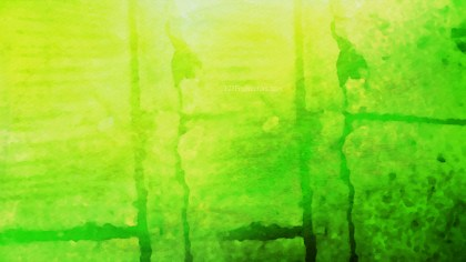 Green and Yellow Watercolor Texture