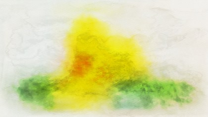 Green Yellow and White Watercolor Texture Image