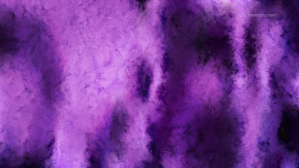 Purple and Black Watercolor Texture Background