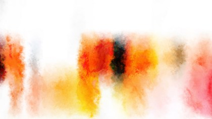 Red Orange and White Grunge Watercolor Texture Background Image