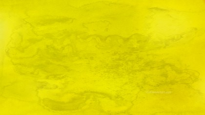 Yellow Distressed Watercolour Background Image