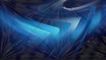 Shiny Black and Blue Abstract Background Image