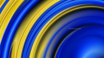 Blue and Gold Background Design