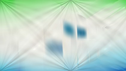 Shiny Blue Green and White Background