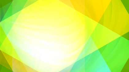 Abstract Green Yellow and White Background Design