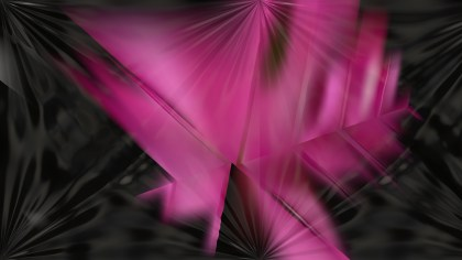 Pink and Black Abstract Shiny Background Design