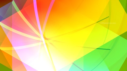 Abstract Red Yellow and Green Graphic Background