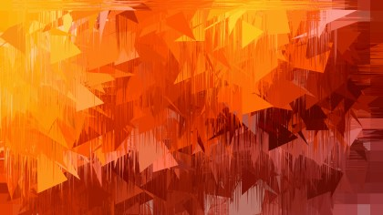 Abstract Dark Orange Texture Background Vector Illustration