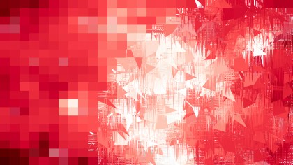 Red and White Abstract Texture Background