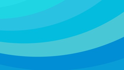 Blue Curved Stripes Background Vector Art