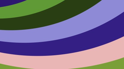 Colorful Curved Stripes Background Vector Image