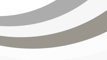Grey and White Curved Stripes Background Illustration