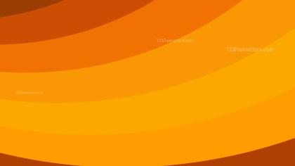 Orange Curved Stripes Background Image
