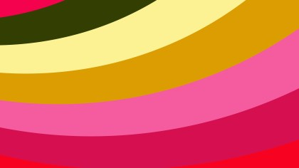 Pink and Green Curved Stripes Background Image