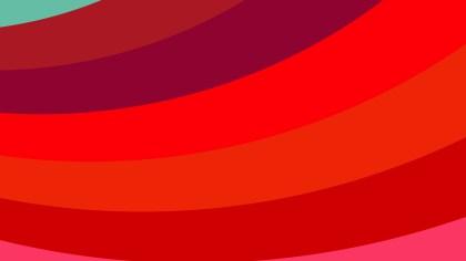 Red Curved Stripes Background Illustration