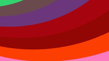 Red and Blue Curved Stripes Background