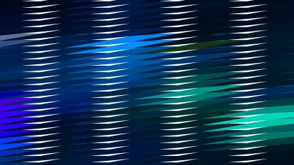 Abstract Black Blue and Green Horizontal Lines and Stripes Background