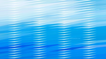 Abstract Blue Horizontal Lines and Stripes Background Design