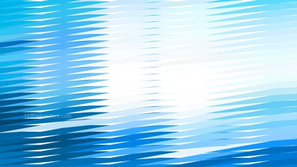 Blue and White Horizontal Lines and Stripes Background Vector Graphic