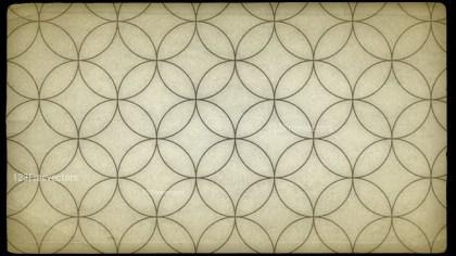 Beige Geometric Circle Background Pattern Image