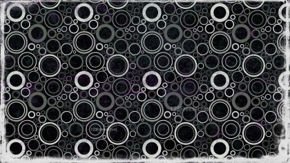 Black and Grey Seamless Circle Pattern Background Image