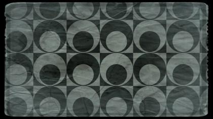 Dark Color Grunge Geometric Circle Pattern Background