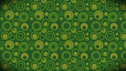 Dark Green Geometric Circle Background Pattern Image