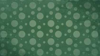 Dark Green Seamless Circle Pattern Background Image