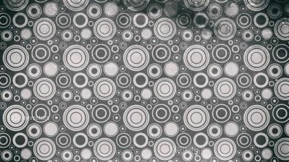 Dark Grey Seamless Circle Background Pattern Image