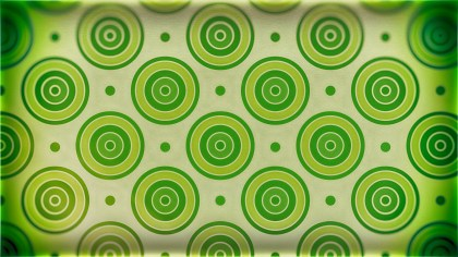 Green and Beige Circle Pattern Background Image