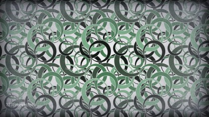 Green and Grey Circle Pattern Background Image