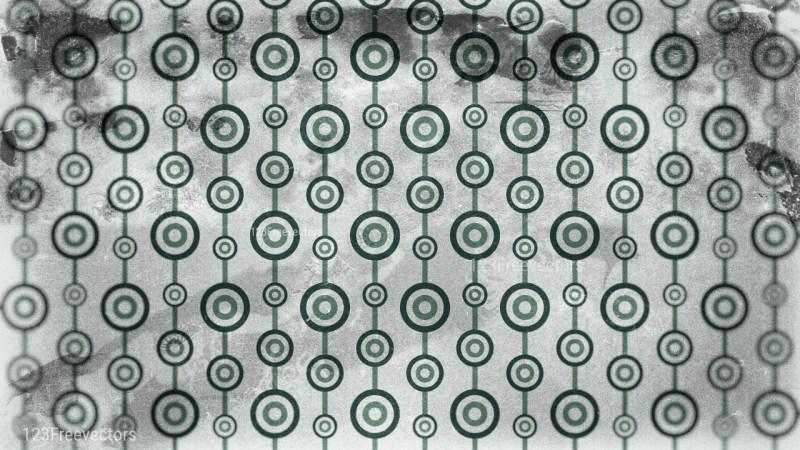 Green and Grey Circle Grunge Pattern Background Image