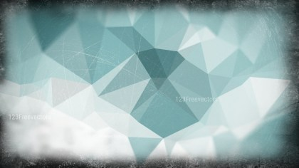 Blue and Grey Grunge Polygonal Background Design