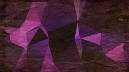 Purple Brown and Black Grunge Polygon Triangle Pattern Background