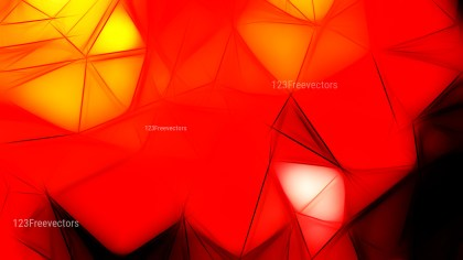 Black Red and Yellow Fractal Background Design