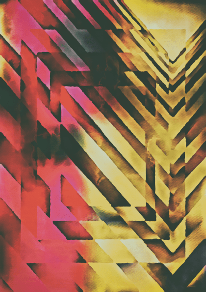 Pink Yellow and Black Textured Background Image