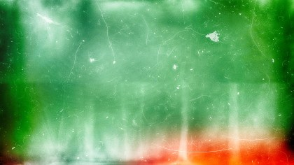 Red Green and White Grunge Texture Background