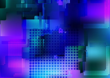 Abstract Blue Pink and Green Background